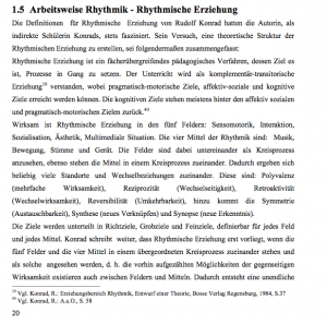 Rhythmik im Clowntheater/Magisterarbeit von Sigrid Seberich